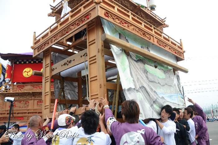 保内八幡神社祭礼 本友会屋台(だんじり)