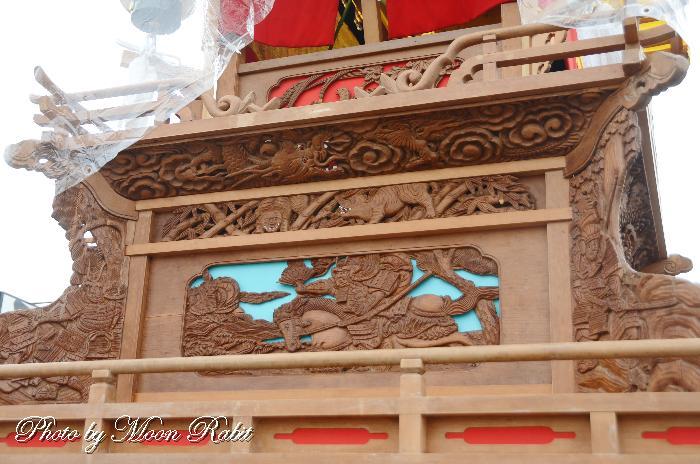 支輪 広江だんじり(屋台) 五所神社徳威神社祭礼