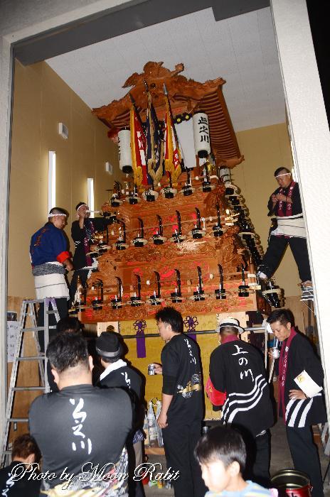 上之川屋台蔵 石岡神社祭礼