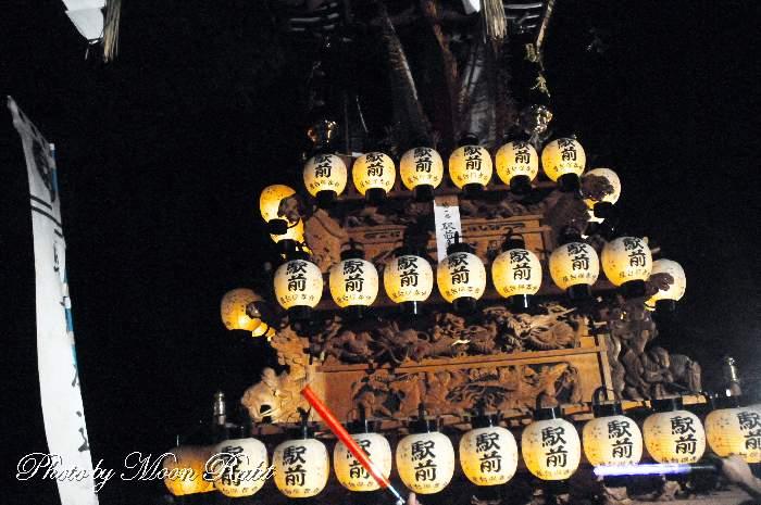 駅前本通屋台(だんじり) 祭り提灯