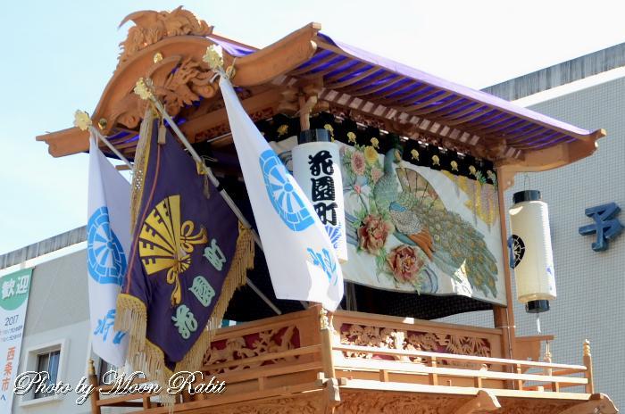 祭り旗 花園町だんじり(屋台)