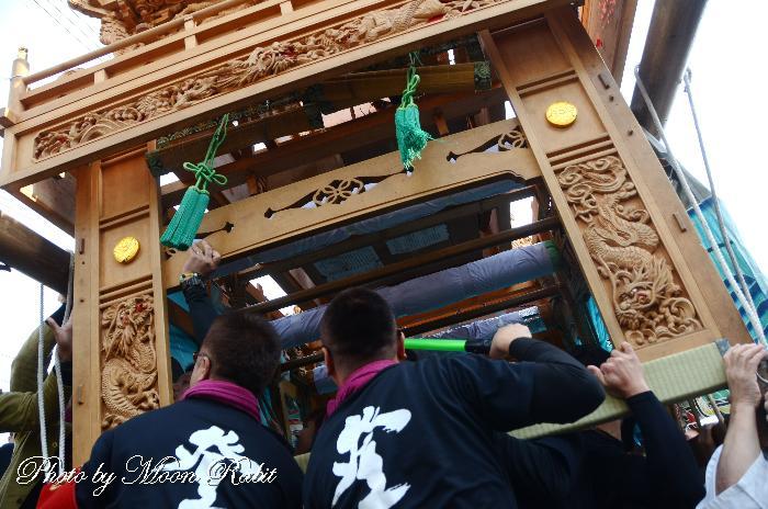 登道屋台(だんじり) 袖障子 西条祭り 伊曽乃神社祭礼 愛媛県西条市