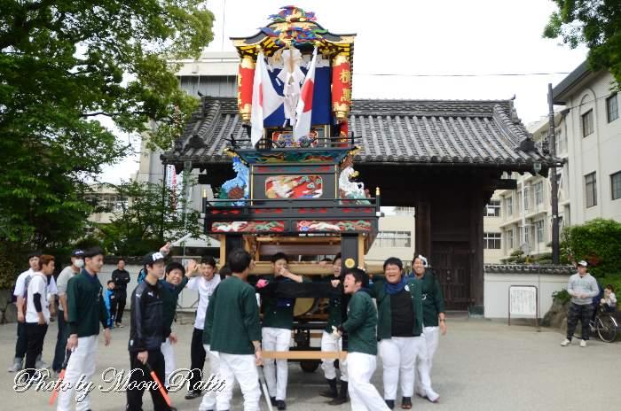 横黒だんじり(個人所有) 風伯神社祭礼