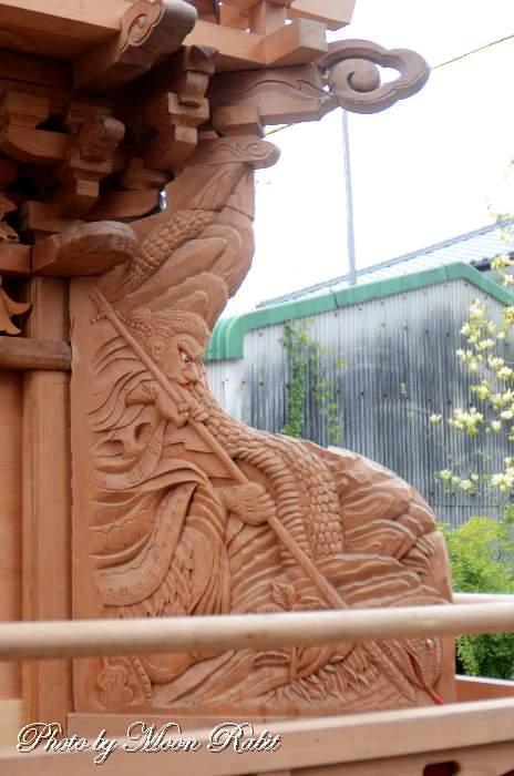 隅障子 花園町だんじり(屋台)