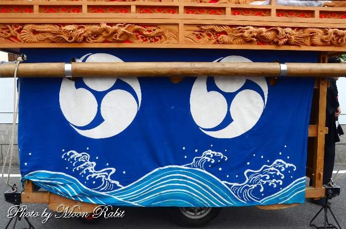 上の川だんじり(上之川屋台) 台輪幕
