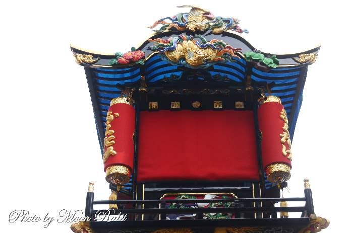 天皇屋台(だんじり) 水引幕