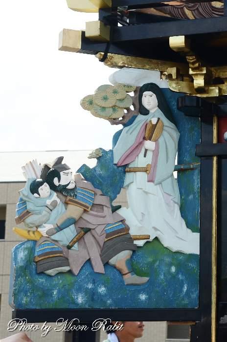 隅障子 船元町屋台(だんじり)