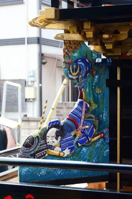 隅障子 上川原だんじり(屋台)