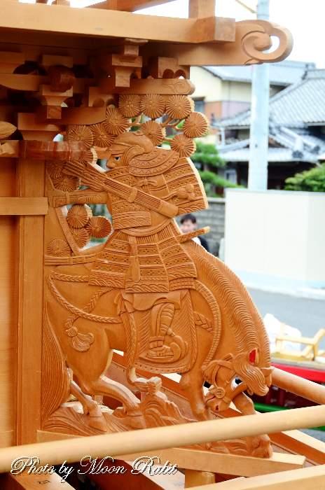 隅障子 藪乃内屋台(だんじり)