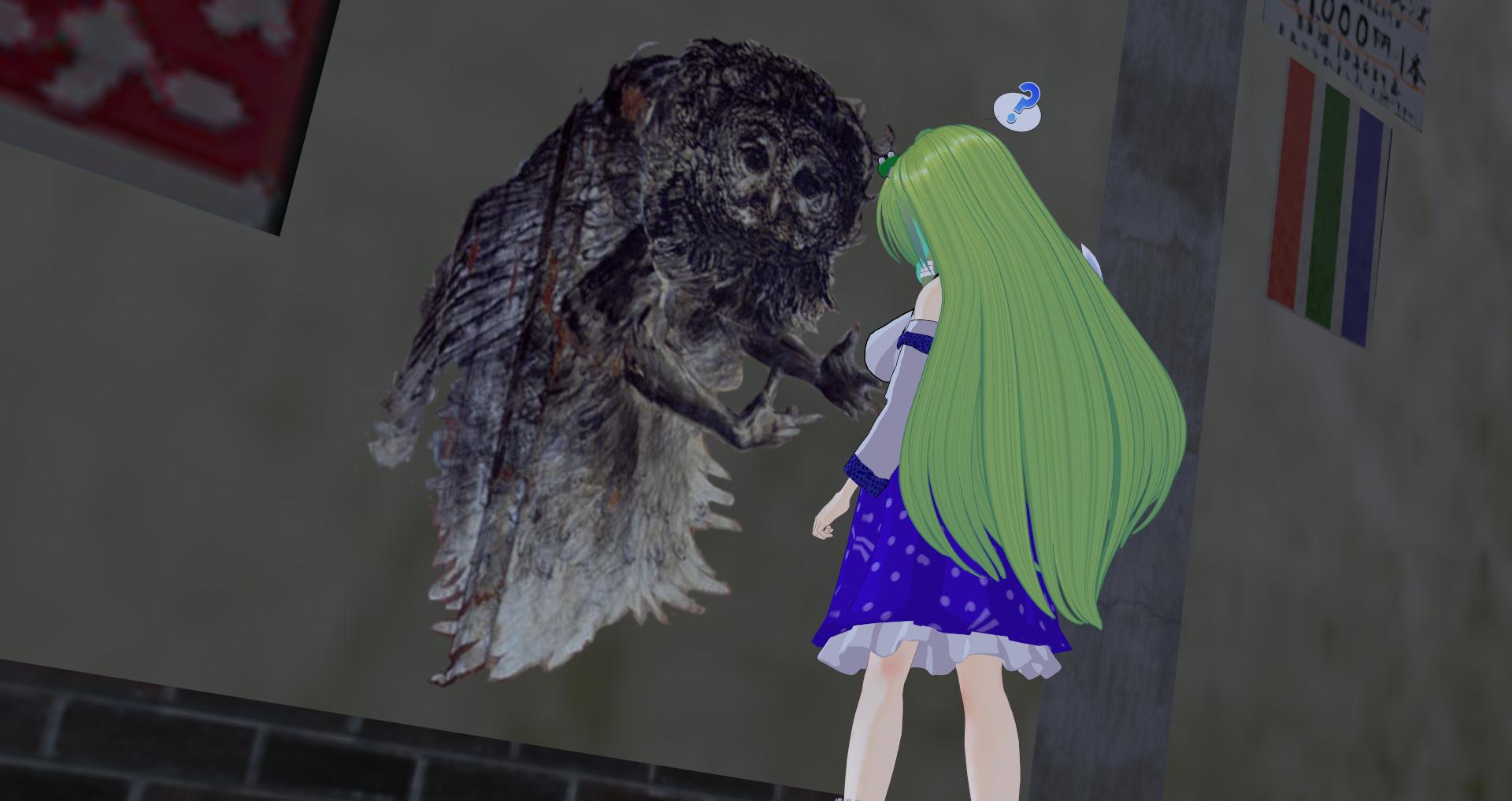 おまけの女神とSCP-1155