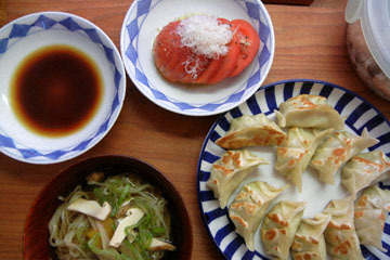 blog Cooking, Lunch, Vegetable Gyoza & Tomato Salad_DSCN3223-10.19.16.jpg