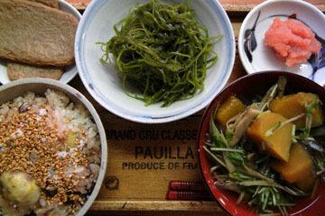 blog Cooking, Lunch, Kuri Okowa, Jakoten & Seaweed_DSCN3234-10.20.16.jpg