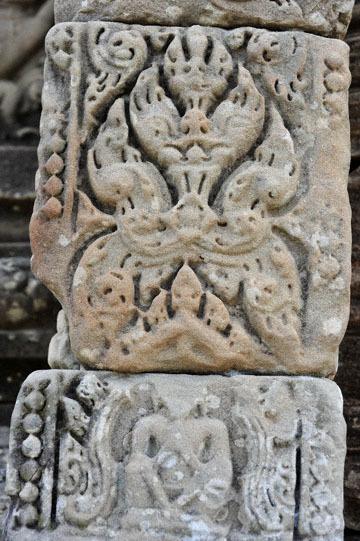 blog 233 Cambodia, Siam Reap, Roluos Group (Lolei, Preah Ko, Bakong) Bakong, in prayer_DSC0088-12.4.13.(2).jpg