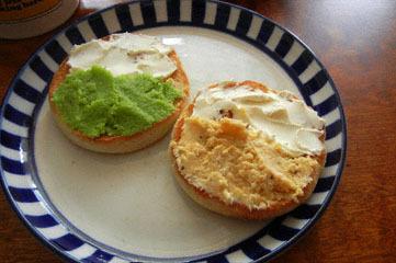 blog Muffin with Zunda & Hiyokomame Paste-DSCN1003-2.5.11.jpg