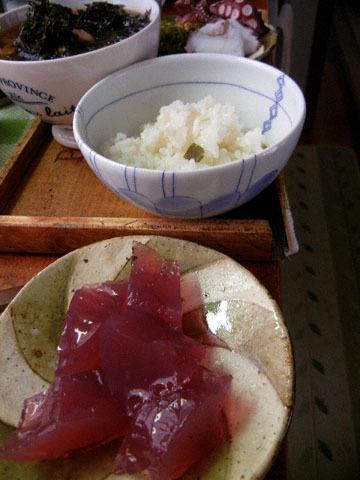 blog Dinner, Tako Salad, Miso Soup & Yukari Kanten_DSCN3042-9.26.16.jpg