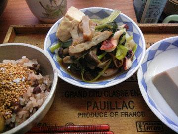 blog Dinner, Kuri Okowa, Jakoten & Veggies, Goma Tofu_DSCN3332-11.11.16.jpg
