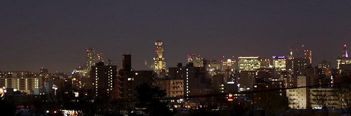 あかつき館眺望(夜景1)