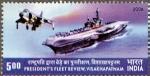 インド・ヴィラート(2006年観艦式)