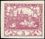チェコ・プラハ城(1918・3ハレル)