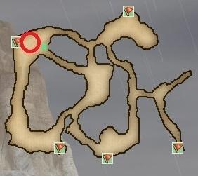 ウルチュスト台地地図