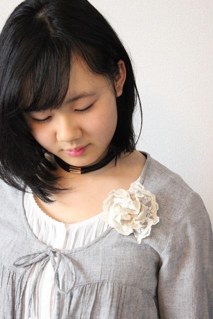 モデル 布花コサージュ (2)