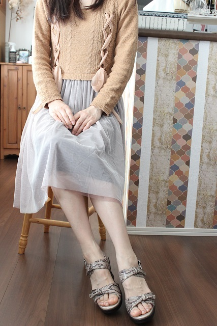 AKAISHI パイソン柄 ダブルベルト (12)