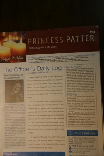 12月20日プリンセスパター