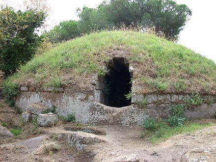 エトルリア墓3