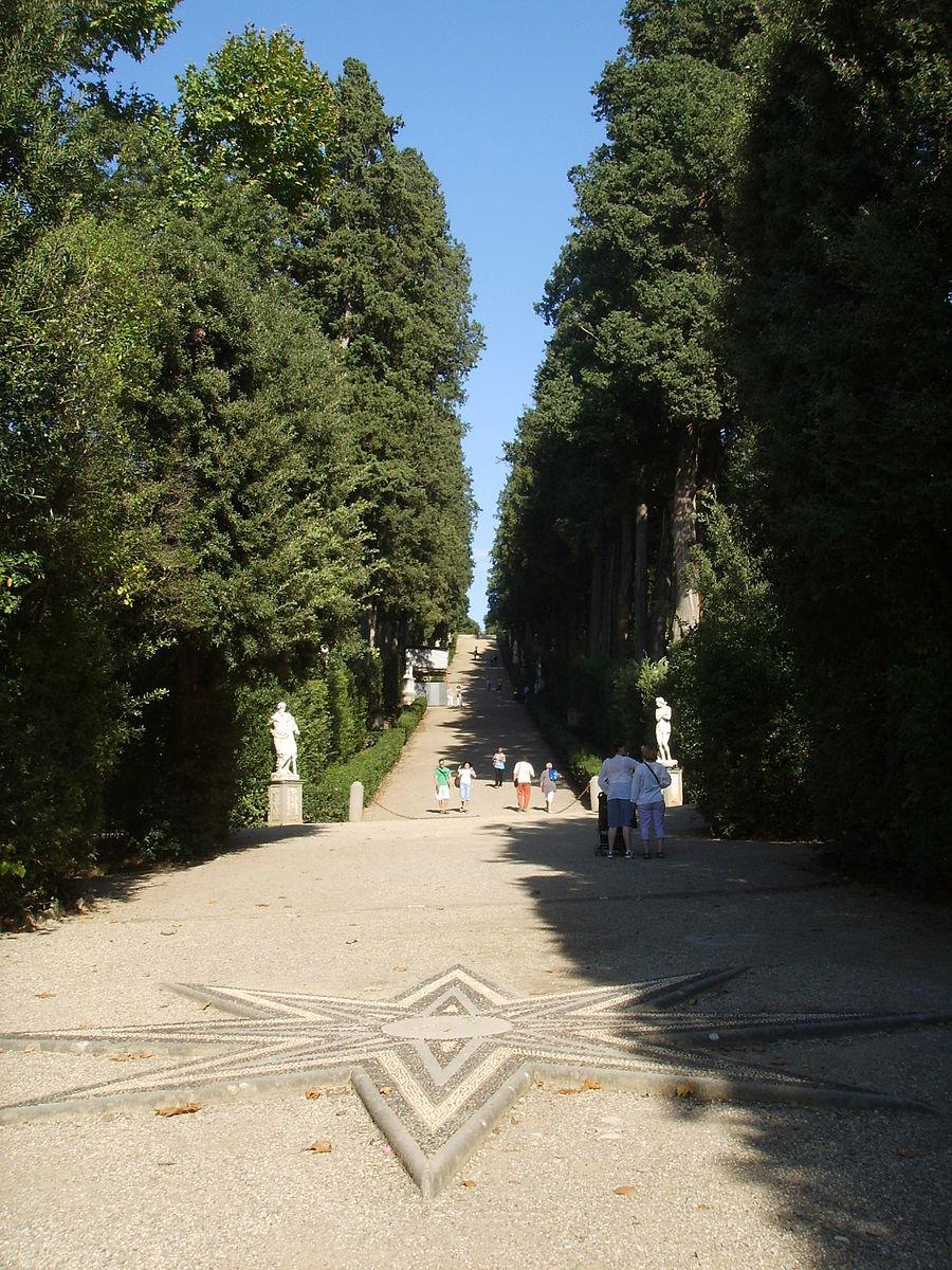 ボーボリ庭園1