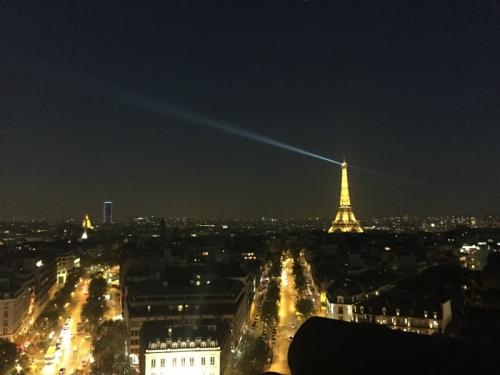 凱旋門夜景