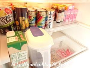 我が家の冷蔵庫の中