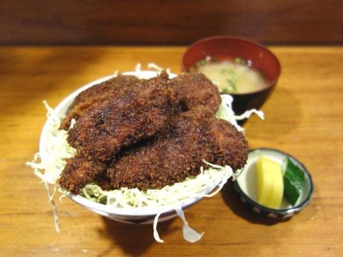 ソースカツ丼チキン2
