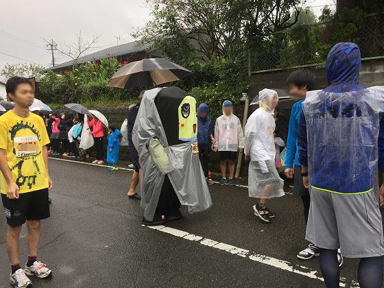 20161023綾・照葉樹林マラソン(6)ふなっしー