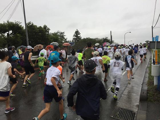 20161023綾・照葉樹林マラソン(7)スタート後1