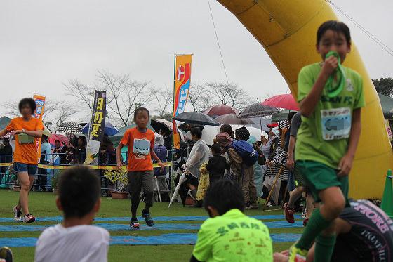 20161023綾・照葉樹林マラソン(9)ゴール