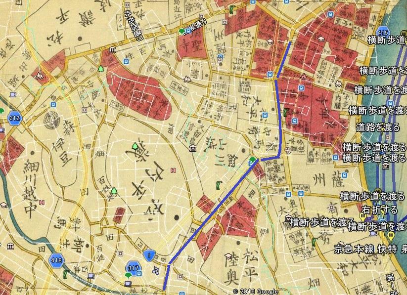 ⑥桜田通り(高輪─五反田)