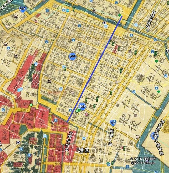 ⑭日比谷通り(外堀─増上寺)