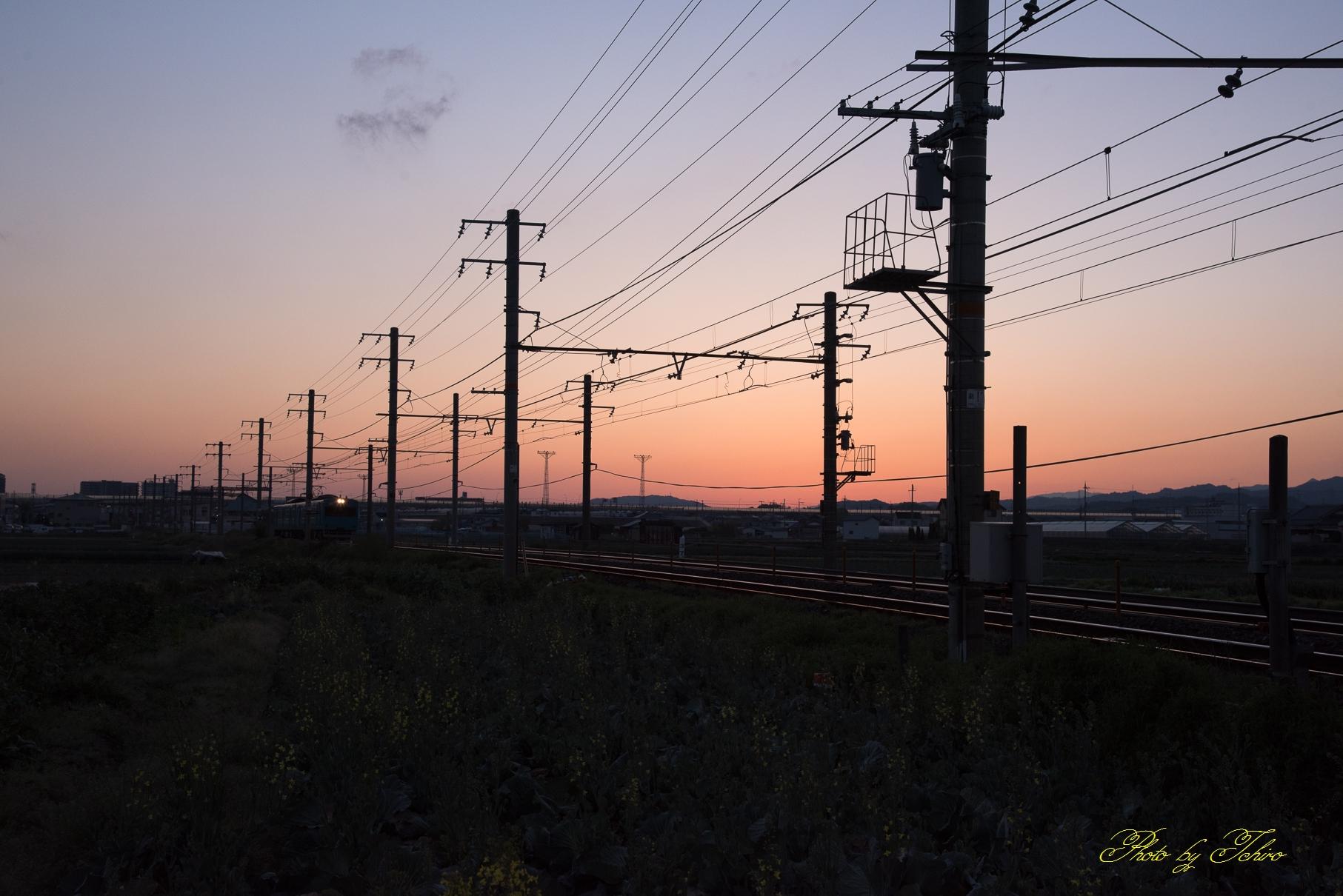日根野駅始発普通紀伊田辺行き