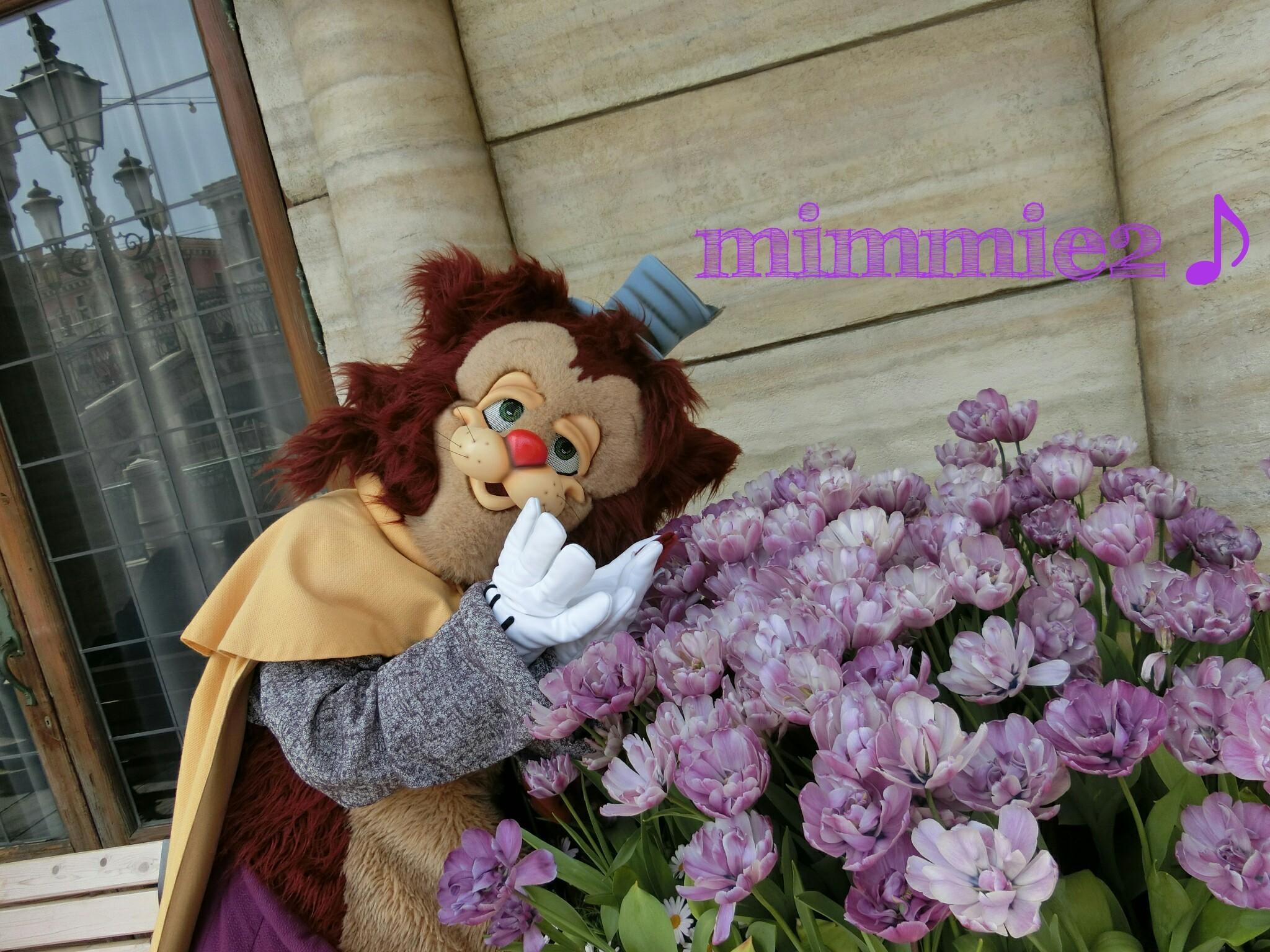 シー☆お花を愛する優しいギデオンのワンショ♪