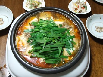 2/27 麻婆豆腐鍋