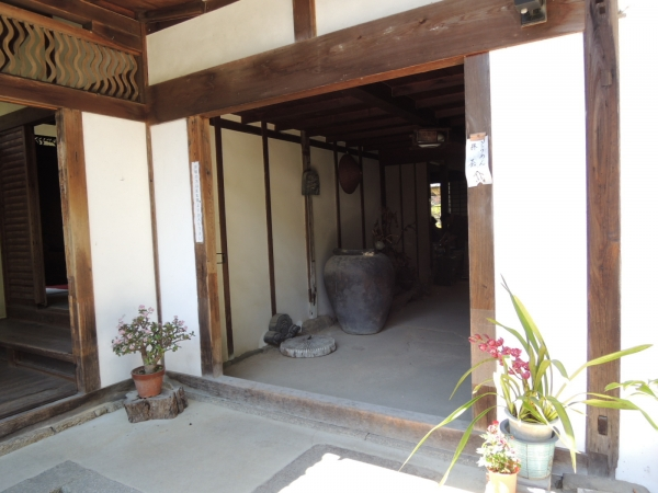 長岳寺 そうめん (8)