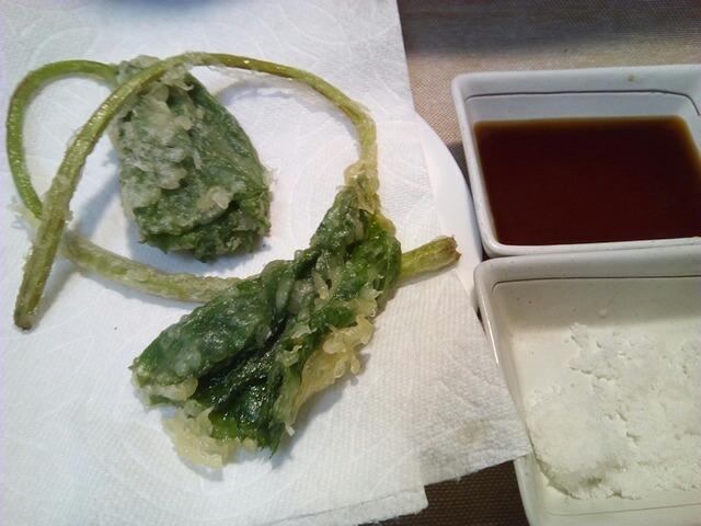 ふきの天ぷら