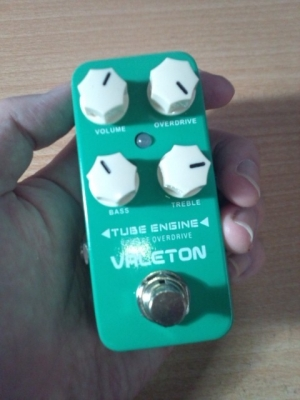 VALETONのTUBE ENGINEオーバードライブ