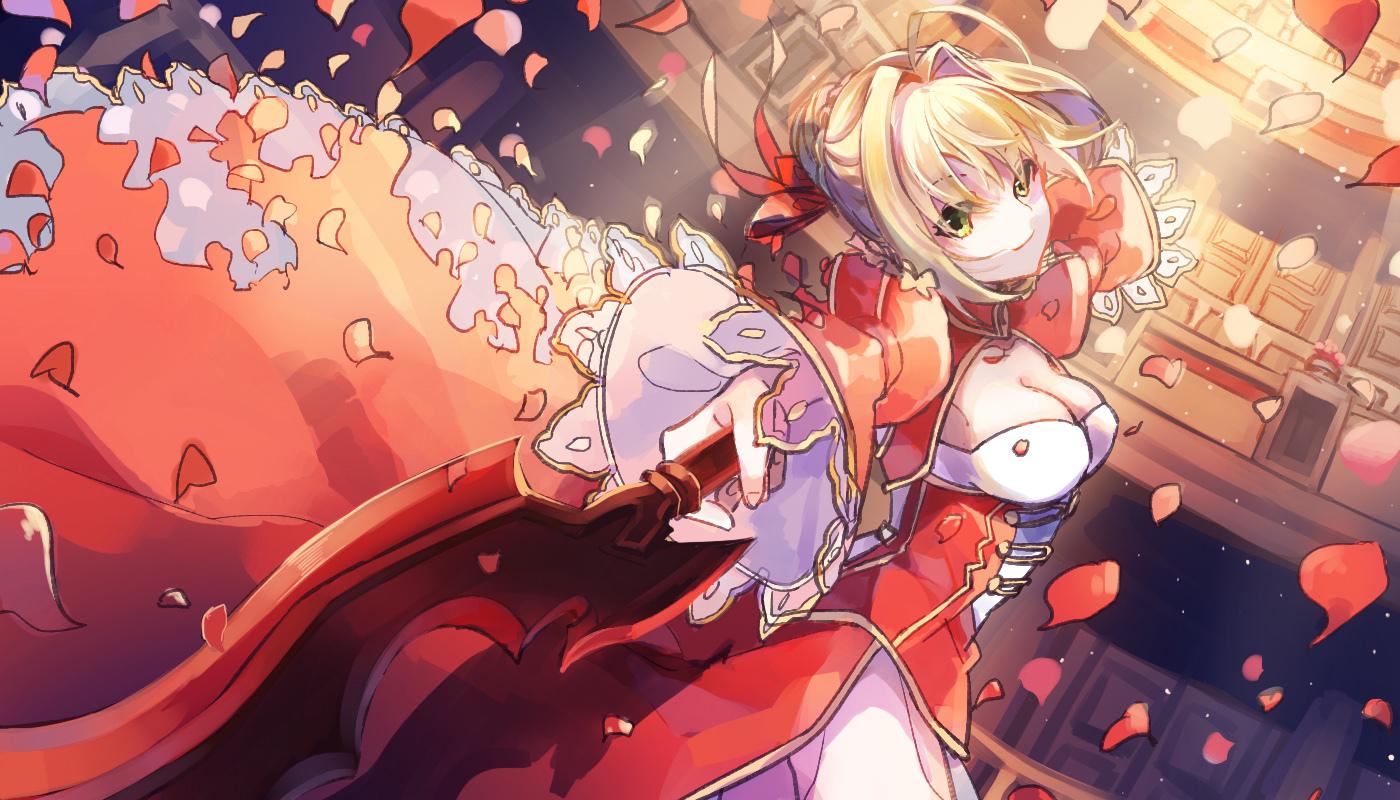 Fate Grandorder ネロ クラウディウス Nero Claudius No 3039 厳選アニメ壁紙 17