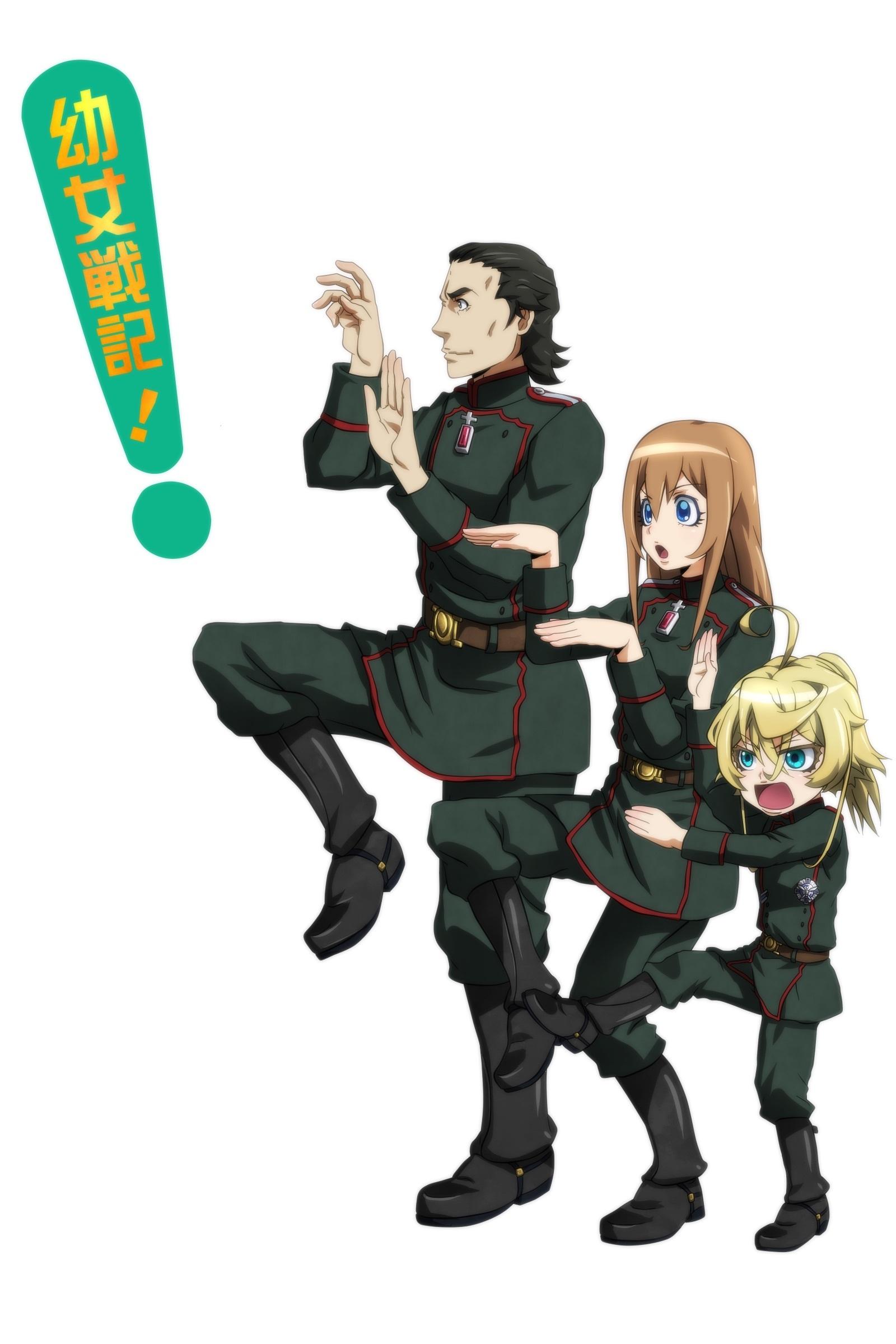 Saga of tanya the evil - 2017 anime wallpaper ...