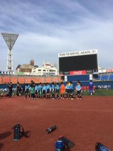 第48回 横浜国際チビッ子サッカー大会U8の部 青葉FC SLブルー4位(敢闘賞)おめでとう!