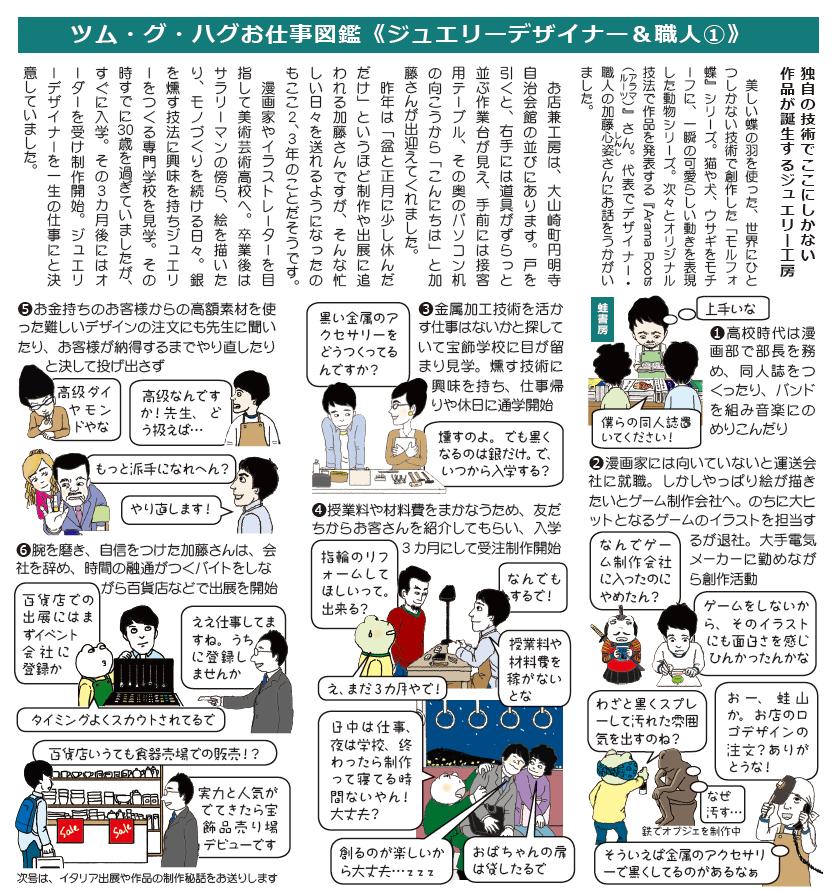 ジュエリーデザイナー加藤心姿ができるまで Vol.1