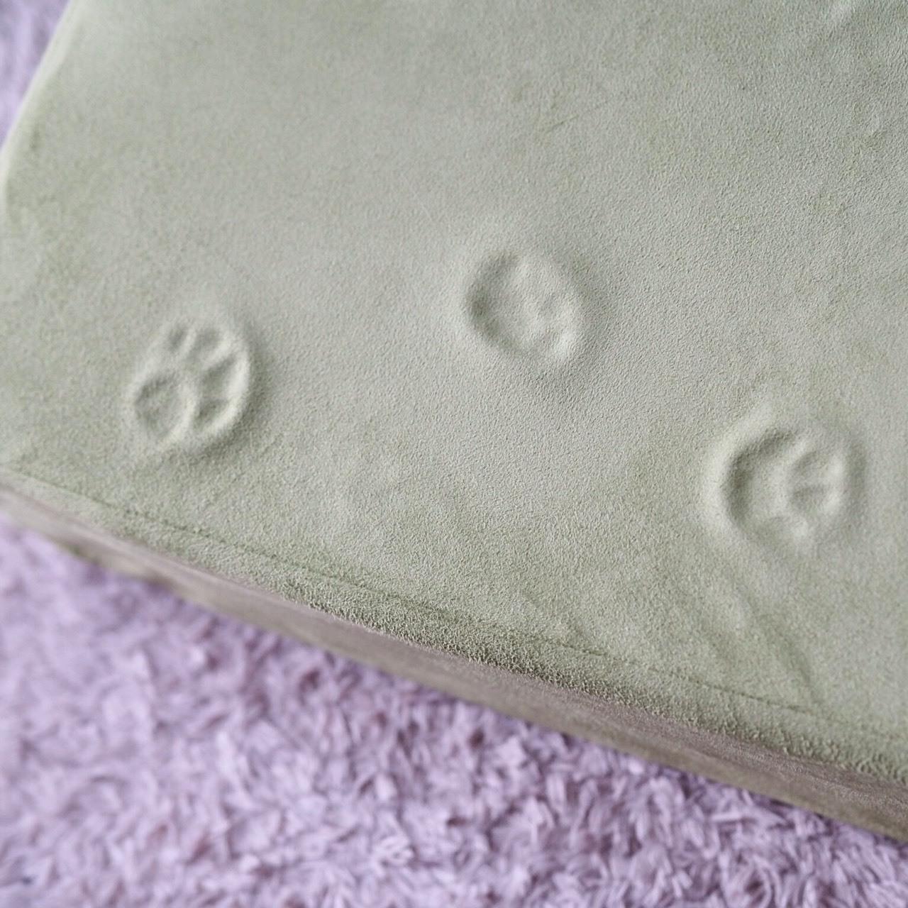 残った猫の足跡