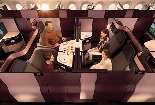 カタール航空で 新しいビジネスクラススイート「QSuites」を発表