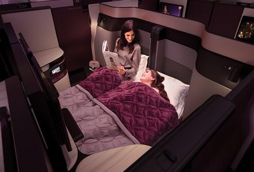 カタール航空で 新しいビジネスクラススイート「QSuites」を発表1